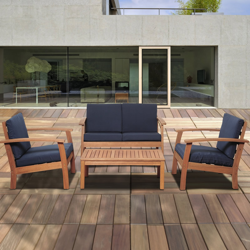 Eucalyptus Patio Sets
