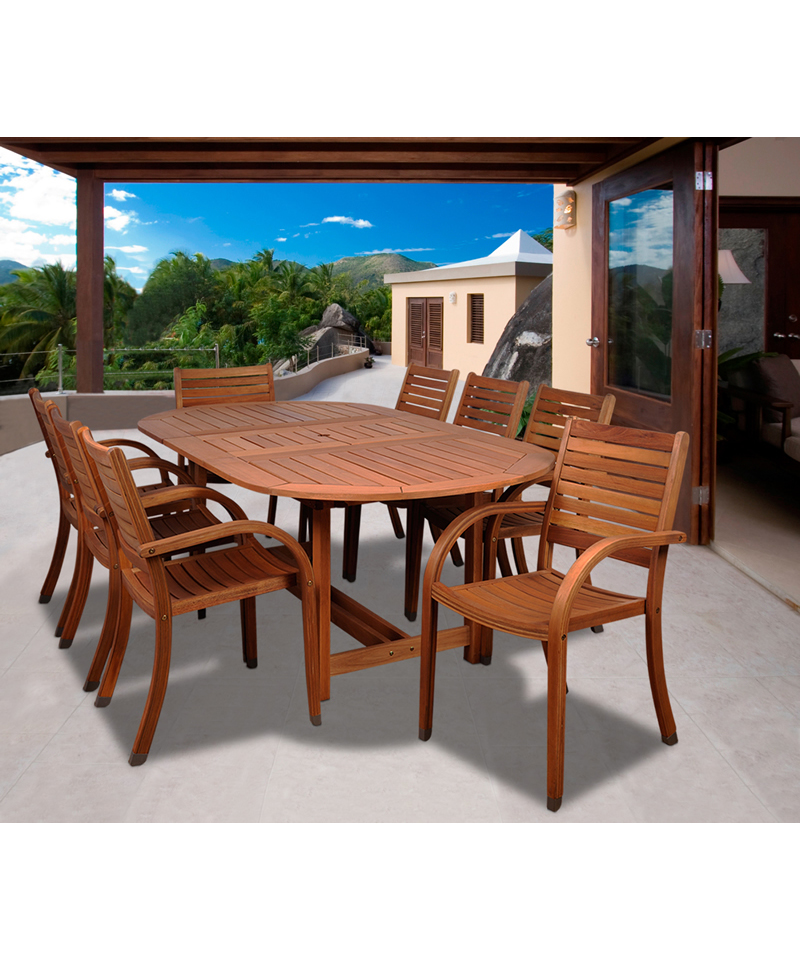 Miami teak bronze by royal teak collection february 2 in for Outdoor furniture miami