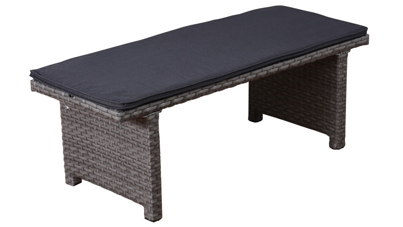 Jamaica 4ft synthetic backless bench