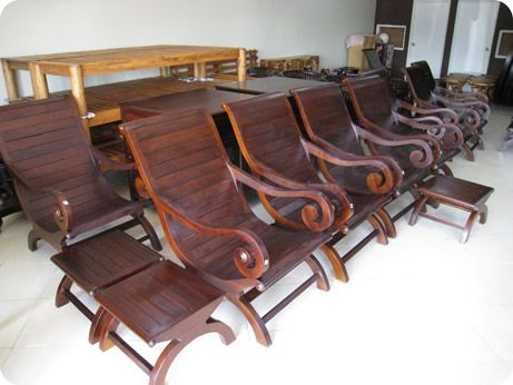 Charmant Teak Plantation Chair   Rio Style